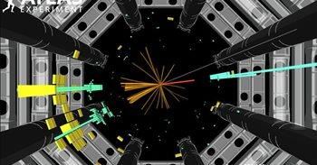 Evidencias de que la partícula de Higgs se descompone en quarks
