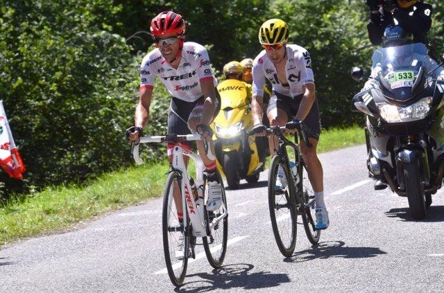 Alberto Contador en el Tour de Francia 2017