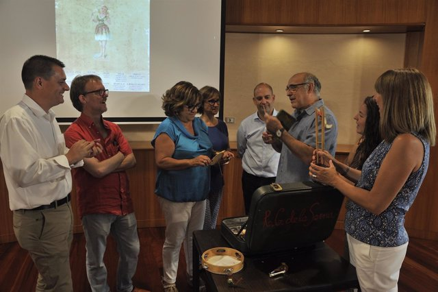 Presentación del Festival Estío Vivo, en la DPH