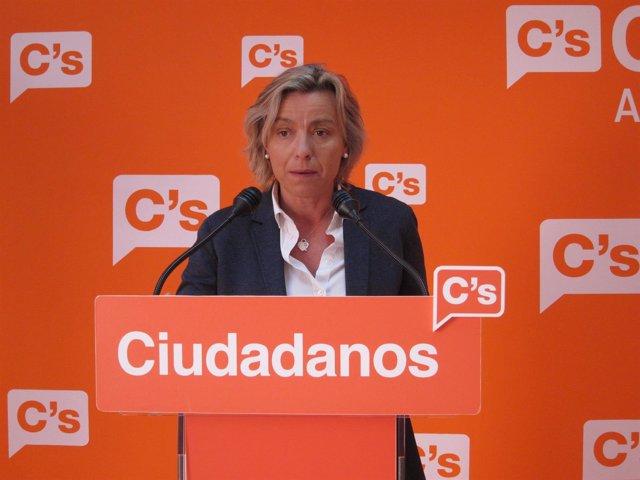 La parlamentaria andaluza por C's Isabel Albás