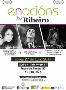 Yolanda Castaño y Lucía Aldao presentarán una nueva cita de 'Enocións by Ribeiro