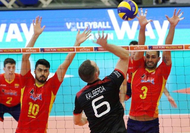 La selección española de voleibol