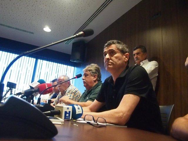El presidente de la Federación de Fútbol de Ceuta, Antonio García Gaona