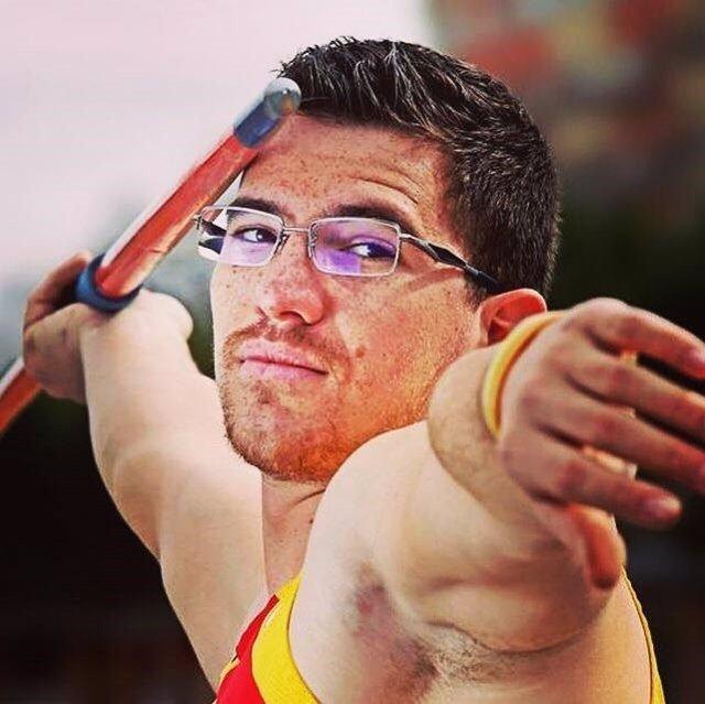 Héctor Cabrera, bronce en el Mundial de atletismo paralímpico
