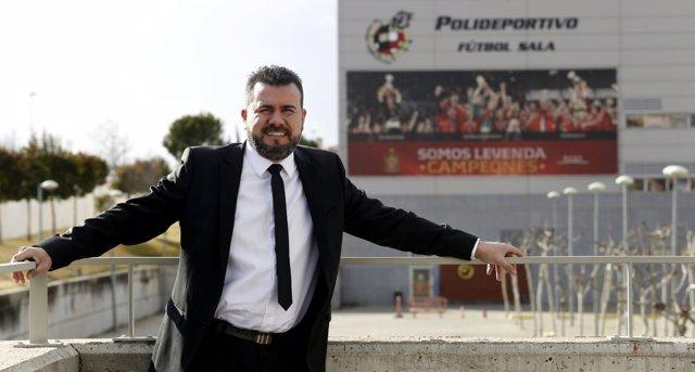 Miguel Galán, precandidato a las elecciones a la presidencia de la RFEF