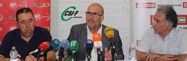 UGT, CCOO y CSIF no descartan movilizaciones en septiembre en defensa de las 35 horas