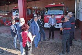 La Diputación de Badajoz invertirá 1,2 millones en rehabilitar el Parque de Bomberos de Don Benito-Villanueva