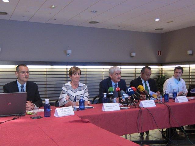 Rueda De Prensa De Ortzibia, Aena Y Vueling.