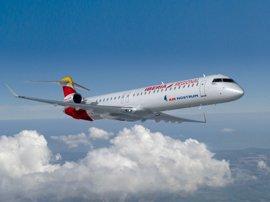 Air Nostrum espera superar el 80% de ocupación en la ruta Badajoz-Mallorca
