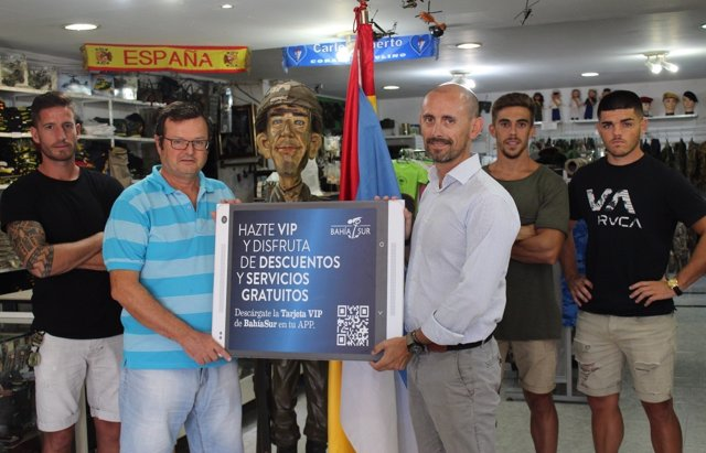 Bahía Sur se suma a la campaña '#Yodefiendolaisla'