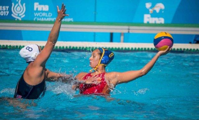 La selección española femenina de waterpolo