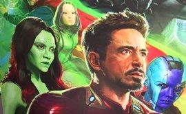 Brutal póster de Infinity War en la Comic-Con con Vengadores, Guardianes de la Galaxia... y Spider-Man