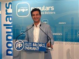 """Company pide a Armengol que busque otros socios """"más fiables que Podemos o que convoque elecciones"""""""
