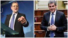 """CC ve margen para cerrar un """"acuerdo de estabilidad"""" con el PP tras la reunión entre Clavijo y Rajoy"""