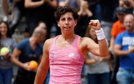 Carla Suárez arrolla a Tatjana Maria y se mete en semifinales de Bucarest