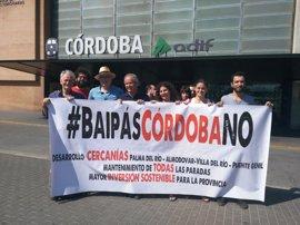 Ediles de Almodóvar, Palma del Río y Córdoba exigen a Rajoy parar el 'bypass' de Almodóvar