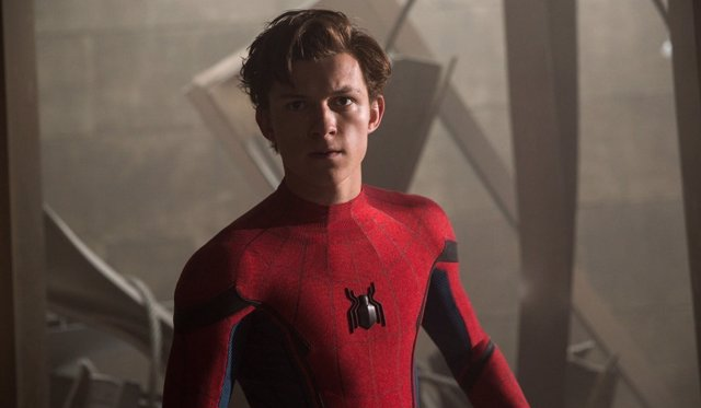 Tom Holland en 'Spider-Man: Homecoming'