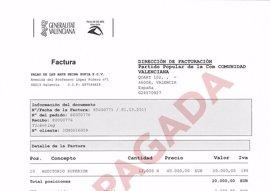 """Compromís reclama al PP que pague también la deuda con el Palau de Les Arts """"aún pendiente"""" por un mitin de 2011"""