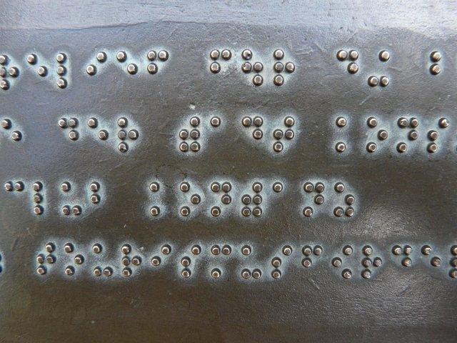 Braille, ciego, discapacidad