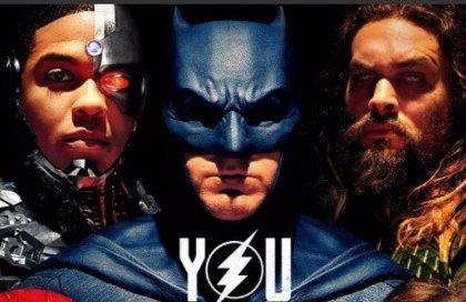Warner calienta la Comic-Con con el nuevo póster de La Liga de la Justicia