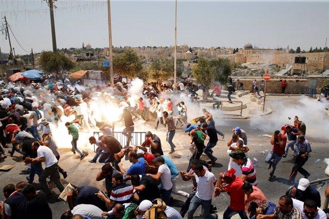 Enfrentamientos en la Ciudad Vieja de Jerusalén (julio 2017)