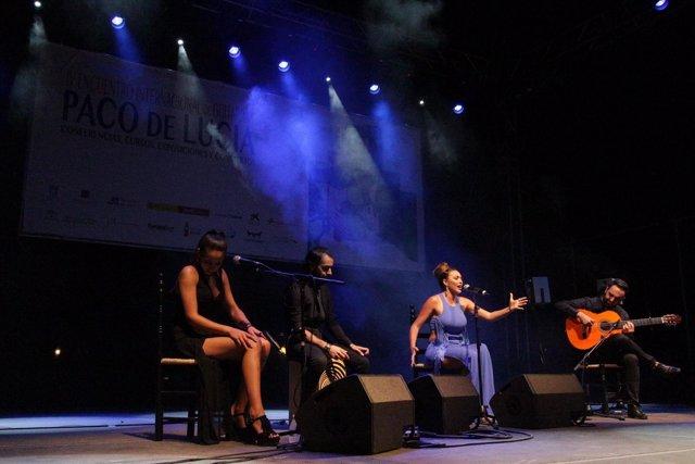 Clausura del IV Encuentro Internacional de Guitarra Paco de Lucía