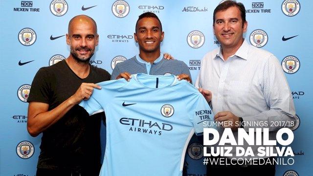 Danilo, nuevo jugador del Manchester City