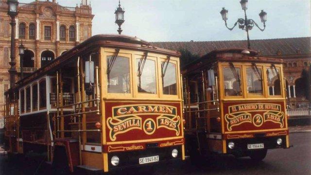 City Sightseeing celebra los 25 años de Compañía Hispalense de Tranvías.