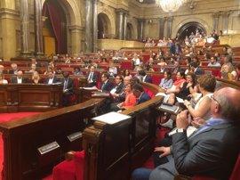 El Parlament no podrá aprobar la ley del voto electrónico para el 1-O antes de vacaciones