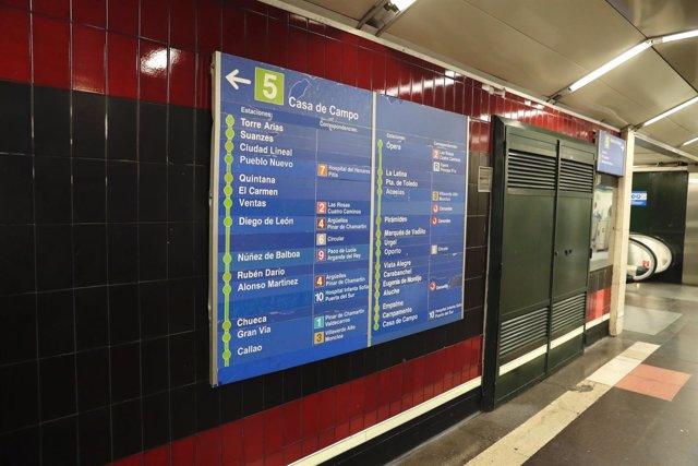 Línea 5 de Metro de Madrid