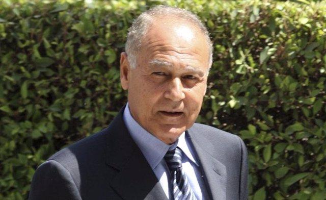 El ministro de Asuntos Exteriores egipcio, Ahmed Abul Gheit