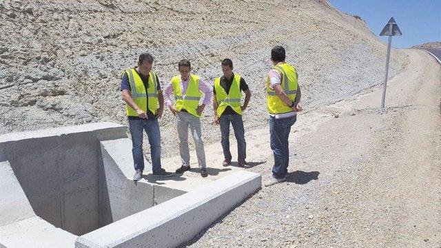 Las obras en la carretera AL-8101 entre Oria y Albox ya han terminado.