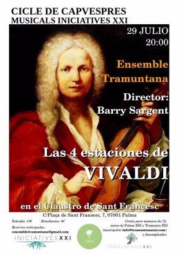 Concierto Las cuatro estaciones Ensemble Tramuntana