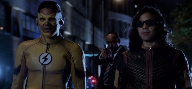 Kid Flash y Cisco