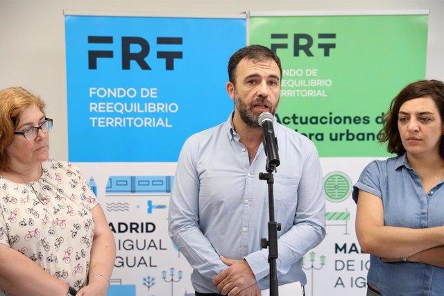 Nacho Murgui, Yolanda Rodríguez y Celia Mayer