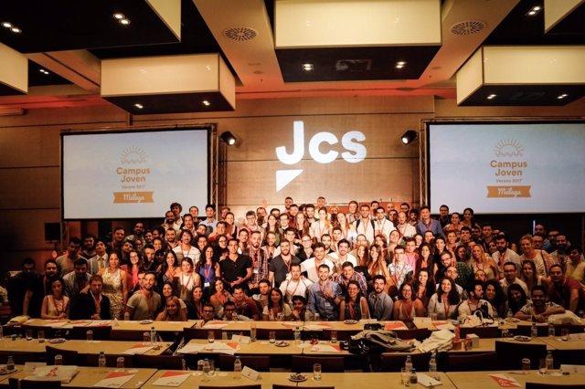 Campus joven málaga clausura ciudadanos cs participantes verano
