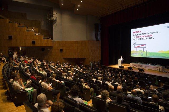 II Congreso Nacional de Despoblación celebrado en Huesca