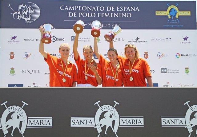 Ganador Campeonato De España De Polo Femenino