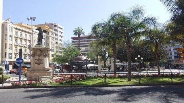 Plaza alicantina de Calvo Sotelo