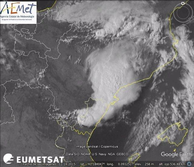 Las tormentas han descendido desde Catalunya