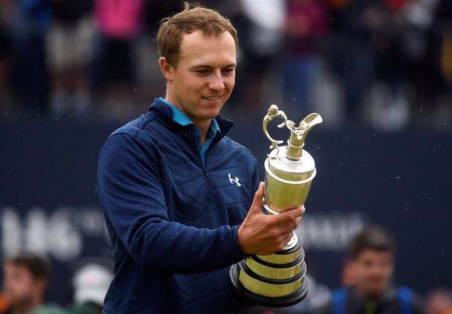 El golfista estadounidense Jordan Spieth
