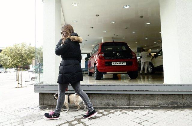 Concesionario, Renault, coches, vehículo, consumo, motor, matriculación