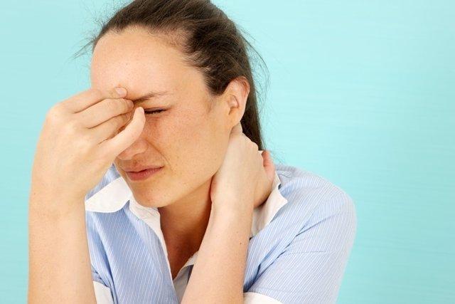 Sinusitis, dolor, nariz