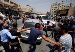 Un guàrdia de l'Ambaixada israeliana a Jordània mata dos jordans després de ser apunyalat (MOHAMAD TOROKMAN)