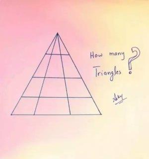 Reto: ¿Cuántos triángulos ves en la imagen?