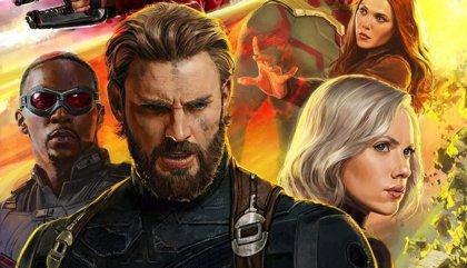 Colosal póster de Vengadores: Infinity War con... ¿el nuevo Capitán América?