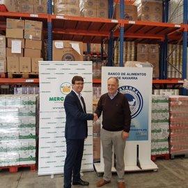Mercadona entrega 4.000 kilos de productos a la Fundación Banco de Alimentos