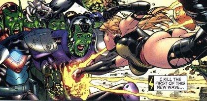 Captain Marvel estará ambientada en los 90 durante la guerra de los Skrulls y los Kree