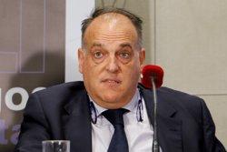 LaLiga es persona com a acusació en la causa contra Villar i demana la intervenció judicial de la RFEF (EUROPA PRESS)