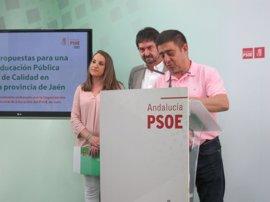 PSOE pide un aumento de las plazas escolares de Infantil y fomentar la Formación Profesional en la provincia de Jaén
